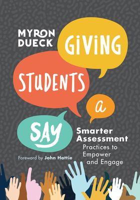 Book cover for Giving students a say