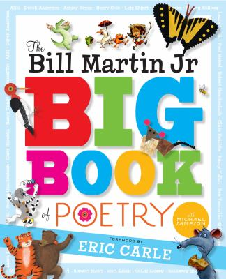 The Bill Martin Jr. Big Book of Poetry(book-cover)