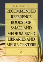 Recommended reference books for small and medium-sized libraries and media centers.