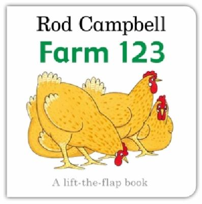"""Book Cover - Farm 123 : a lift-the-flap book """" title=""""View this item in the library catalogue"""