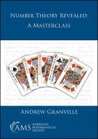 Number theory revealed : a masterclass /