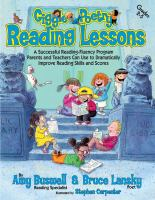 Giggle poetry reading lessons : a successful reading-fluency program parents and teachers can use to dramatically improve reading skills and scores, Grades 2/5