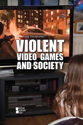 Book cover for Violent video games and society