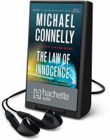 The law of innocence : a Lincoln lawyer novel