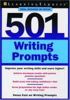 501 writing prompts.