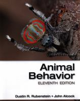 Animal behavior /