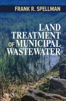 Land treatment of municipal wastewater /