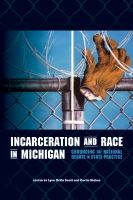 Incarceration and race in Michigan : grounding the national debate in state practice /