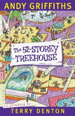 """Book Cover - The 52-storey treehouse"""" title=""""View this item in the library catalogue"""