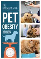 Management of pet obesity /