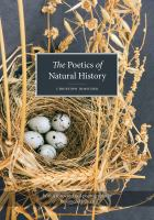 Poetics of natural history /