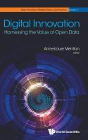 Digital innovation : harnessing the value of open data /