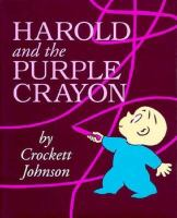 Cover art for Harold and the Purple Crayon
