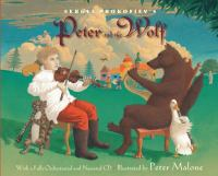 Cover art for Sergei Prokofiev's Peter and the Wolf