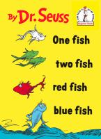 Cover art for One Fish, Two Fish, Red Fish, Blue Fish