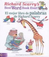 Cover art for Richard Scarry's Best Word Book Ever