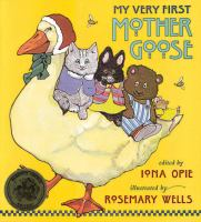Cover art for My Very First Mother Goose