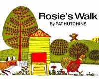 Cover art for Rosie's Walk