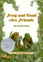 Cover art for Frog and Toad are Friends