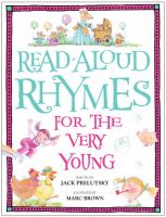 Cover art for Read-aloud Rhymes for the Very Young