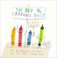 Cover art for The Day the Crayons Quit