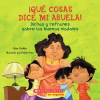 Cover art for ¡Qué cosas dice mi Abuela!