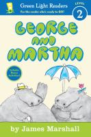 Cover art for George and Martha