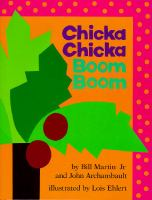 Cover art for Chicka Chicka Boom Boom