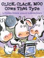 Cover art for Click, Clack, Moo: Cows That Type