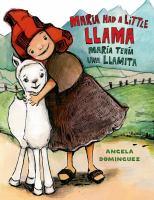 Cover art for María tenía una llamita / Maria had a little llama