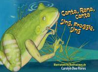 Cover art for Canta, Rana, Canta / Sing, Froggie, Sing